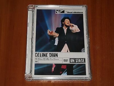 CELINE DION THE COLOUR OF MY LOVE LIVE CONCERT DVD 1993 TOUR CANADA New