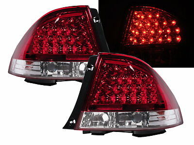 IS200/IS300 1999-2005 XE10 LED Tail Rear Light V1 Red/CLEAR for LEXUS