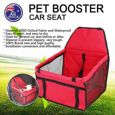 NEW Safety Car Seat Safety Cover Booster Bag Mat Polyester For Dog Cat Pet Puppy