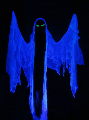 Ghost with tombstone peeping motion activated color for Animated floating ghost decoration