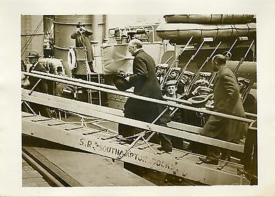 """MMrs BRÜNNING & CURTIUS s/ WINCHESTER 1931"" Photo originale G.DEVRED (Agce ROL)"