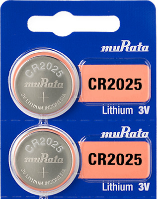 2 Sony CR2025 3V coin cell batteries Lithium 100% Brand New Genuine + Tracking