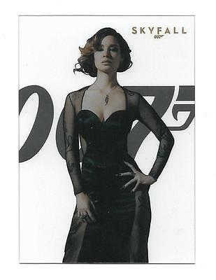 2012 James Bond 50th Anniversary Series 2 Skyfall Poster  #SF2 Severine