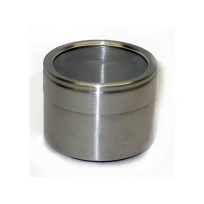 New Stainless Steel (18/0) Open Stock Container W/Silicone Seal