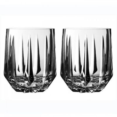 New Waterford Vera Peplum Double Old Fashioned, Set of 2