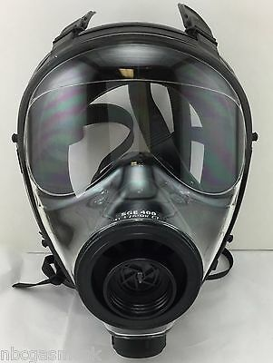 SGE 400 NBC Gas Mask (BRAND NEW / Made in Aug. 2017!!!) 40mm NATO Size Med/Large