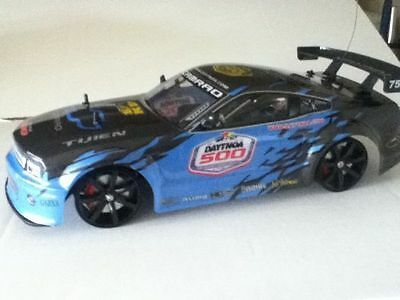 RC Radio 1:10 Scale 4WD Drift Racing Car Remote WD01-Blue/yellow