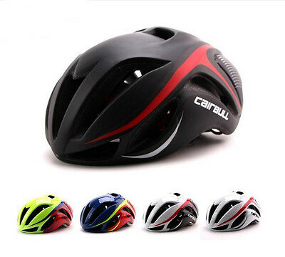 Unisex Adult Bike Bicycle Cycling Outdoor AERO Helmet Integral forming EPS+PC