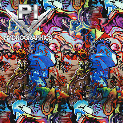 Hydrographic Film Hydro Dipping Water Transfer Print Hydro Dip Graffiti Ll-505