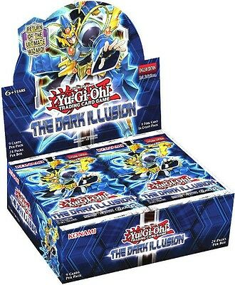Yu-Gi-Oh! The Dark Illusion Booster Box | Ships Today!