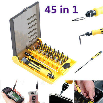 45 in 1 Precision Torx Triangle Five-point star Hats Tri-wing Screwdriver Set