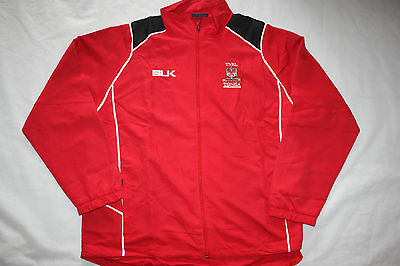 Rugby League Red Tonga Mens Full Zip Training Track  Jacket - size  5XL