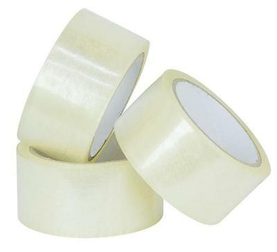 CLEAR Sticky Packing Packaging Tape 48mm x 75m