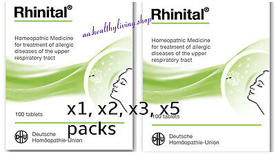 DHU Rhinital*100tabs Homeopathic Medicine-Prevent and Relieve Allergic Rhinitis