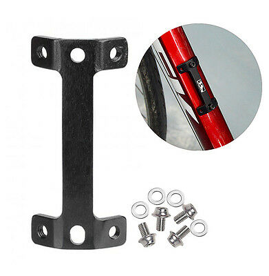 Bicycle Bike Cycling Water Bottle Cage Holder Mount Extension Adapter Fixed