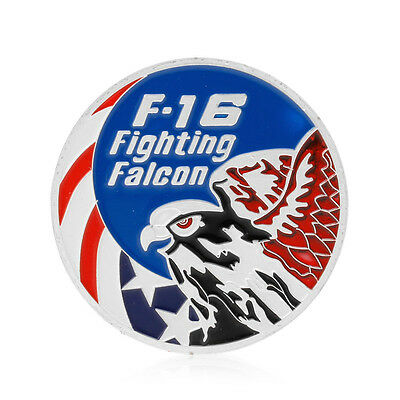 F-16 Fighting Falcon Air Force Eagle Commemorative Coin Art Collection