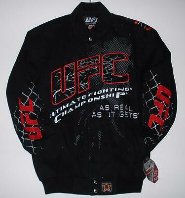 Ufc Ultimate Fighting Cotton Jacket New Black Small