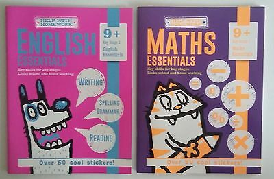 HWH English and Maths Ages 9+ Workbooks (set of 2 books)