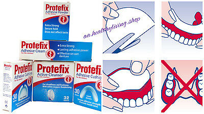 Protefix German Quality Active Cleanser *32 tablets Safe Strong Cleansing Power