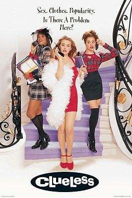 CLUELESS - MOVIE POSTER - 24x36 - 51900