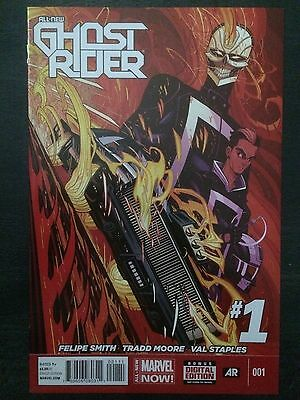 All-New Ghost Rider + Ghost Racers 1st Robbie Reyes