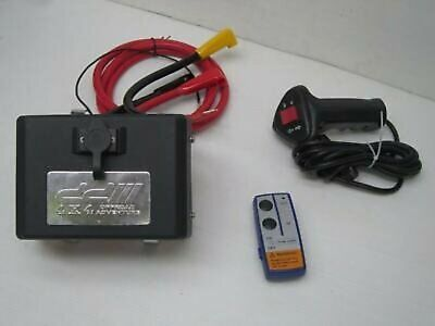 1 set Electric Control Winch Box Pack 12V Relay solenoid Wireless Remote switch