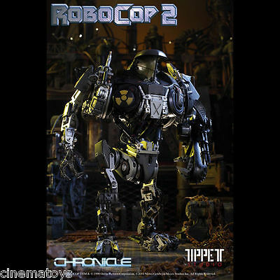 CHRONICLE RoboCop 2 CAIN Signed by Phil Tippett Statue Figure Legacy Series rare