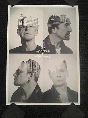 5 U2 LIMITED EDITION FAN CLUB innocence + experience SILKSCREEN PRINT Poster Lot