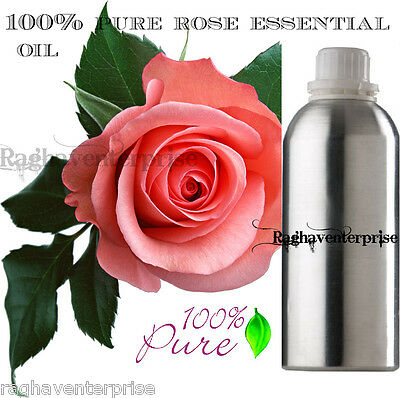 Rose Essential Oil 100% Pure Natural Therapeutic Grade Aromatherapy 1 ml-500 Ml