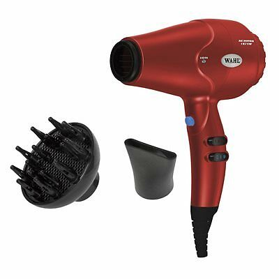 Wahl Compact Performance Hair Dryer - Red