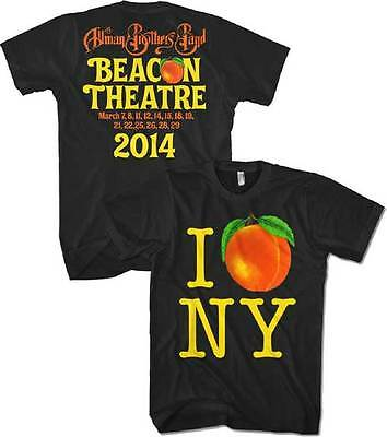 ALLMAN BROTHERS BAND - I Peach NY T SHIRT S-2XL New Official Live Nation Merch