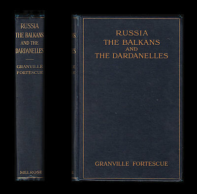 1915 RUSSIA The BALKANS and DARDANELLES - Warsaw POLAND Constantinople GALLIPOLI