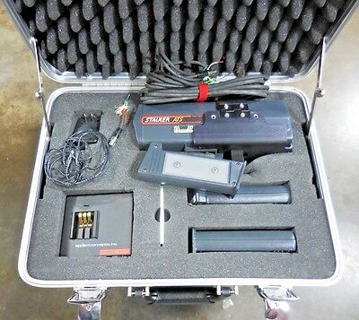 Stalker ATS Radar Gun (with accessories & carrying case)