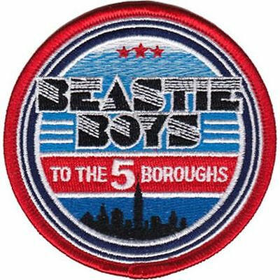 Beastie Boys - 5 Boroughs - Embroidered Patch - Brand New - Music Band 4430