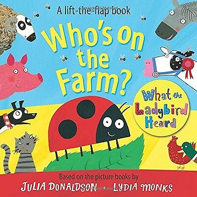 Who's on the Farm? A What the Ladybird Heard Book (Lift the Flap Book) - Book