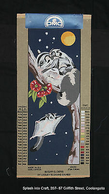 Tapestry Canvas - Clearance - Dmc - Sugar Gliders - Canvas To Be Stitched