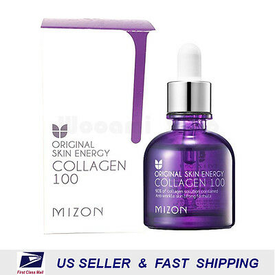 [ MIZON ] Original Skin Energy Collagen 100 Ampoule 30ml ++NEW Fresh++
