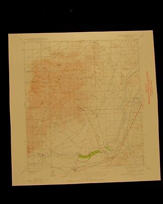 Eugene Mountains Area Nevada vintage 1958 original USGS Topographical chart