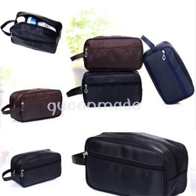 Men Travel Waterproof Toiletry Bag Wash Shower Makeup Organizer Portable Case Q