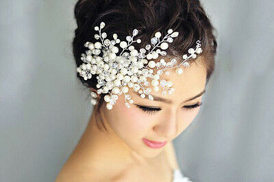 Bridal Hair Comb Wedding Hair Accessory With Pearls And Crystals Hair Jewelry
