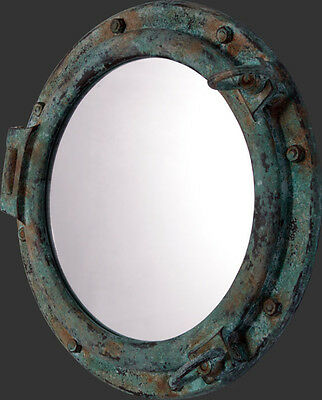 Port Hole Green Garnish  finish Mirror