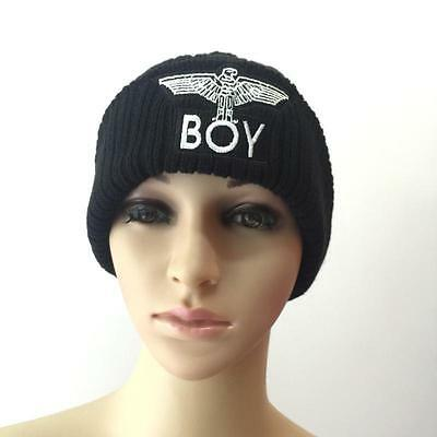 KPOP Letters Knitting Hat  Adjustable Snapback Fitted Cap Fashion Hiphop Hat