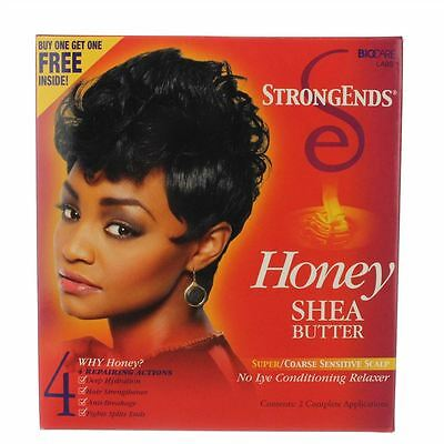 Strong ends - relaxer kit super