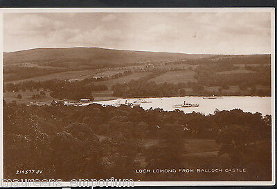 Scotland Postcard - Loch Lomond From Balloch Castle    MB1091