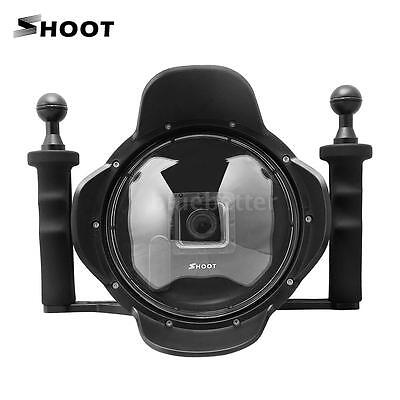 Underwater Diving Photography Dome Port Lens Cover Shell Case GoPro Hero3 4 H2O5