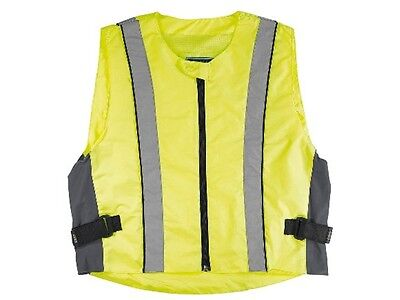 Germas High visibility vest Gr 6XL Motorcycle Safety Fluorescent Vest flap free