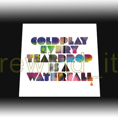 """Coldplay """"every Teardrop Is A Waterfall"""" 7"""" - Sealed"""