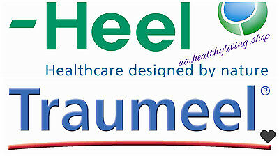 Traumeel *50 tablets by Heel Homeopathy Injuries sprains bruises joints fracture