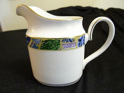 Minton Blue Mosaic Large Creamer As New Never Used