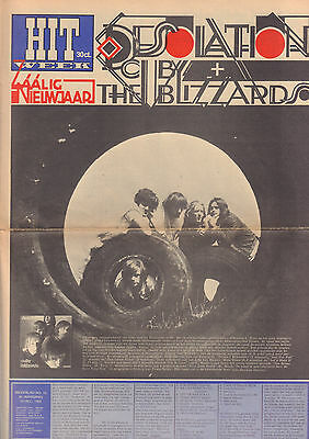 HITWEEK 1966 nr. 15 - DUTCH MAGAZINE WITH A.O. CUBY + BLIZZARD/PETER KOELEWIJN